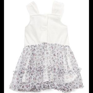 Nannette Matching Sets - Nannette Cat Glitter Mesh Tunic & Coral Bow Shorts